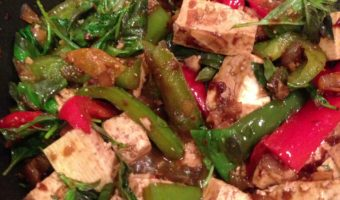 Thai Tofu with Chilies & Basil