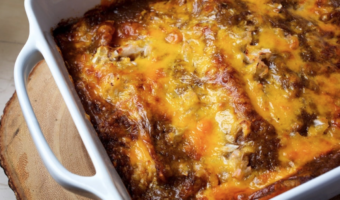 Cheese Enchiladas with Chili Gravy